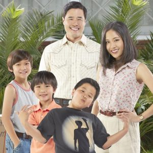 The Huang family in ABC's upcoming show FOB, set to air Mid Fall 2014 season.